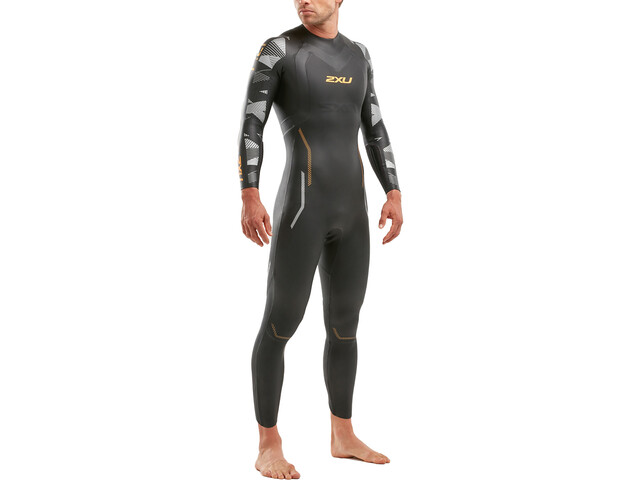 2XU P:2 Propel Muta Uomo, black/orange fizz